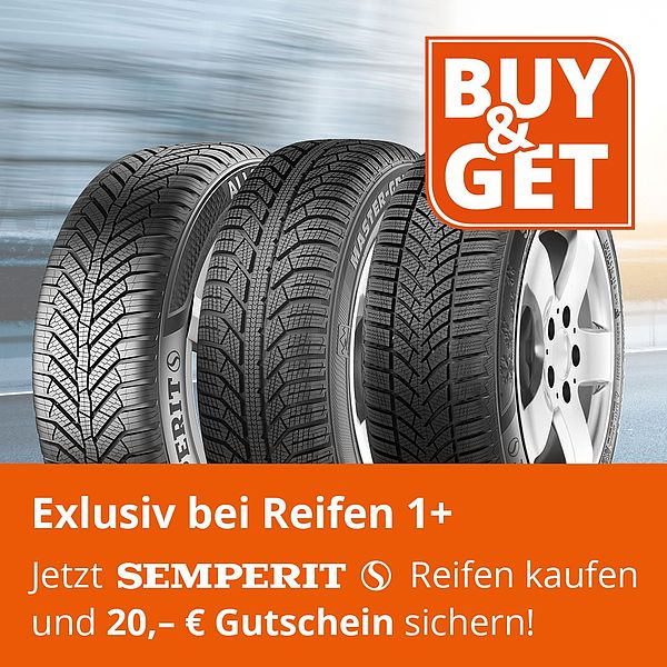 Buy & Get Gutscheinaktion